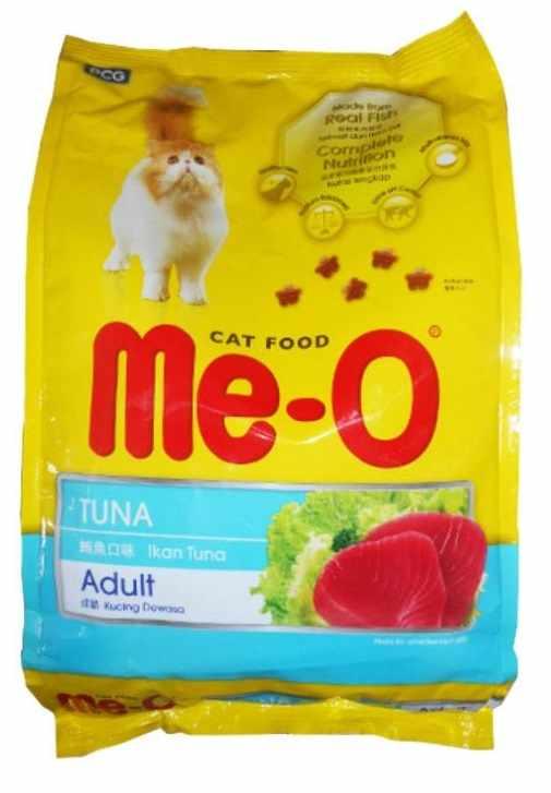 Me-o makanan kucing